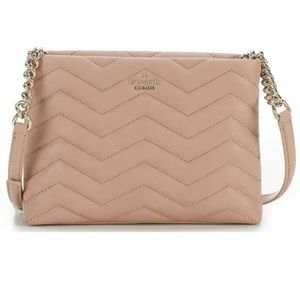 Kate spade newyork crossbody quilted leather purse